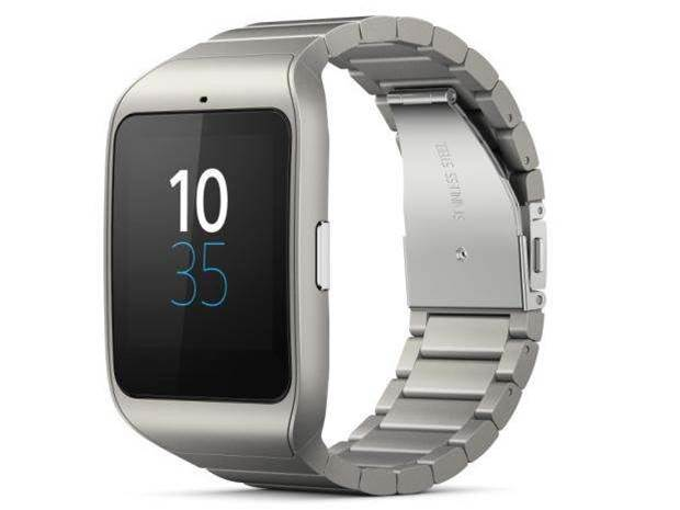 Sony announces stainless steel SmartWatch 3