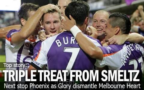 Smeltz Breaks Heart's Finals Hopes