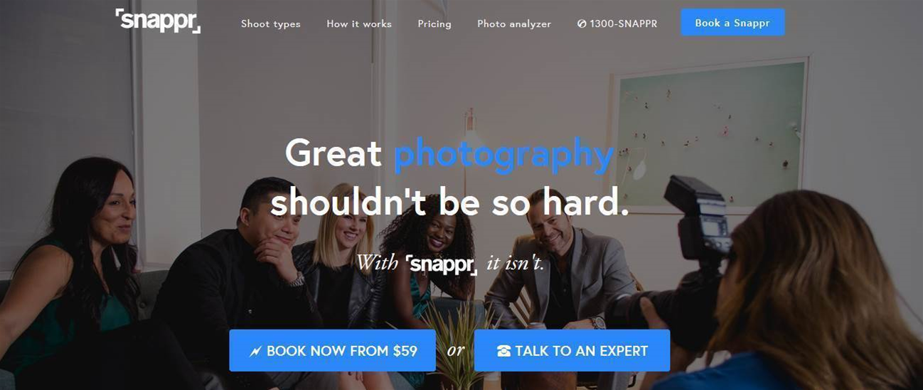 Aussie startup Snappr gets global backer