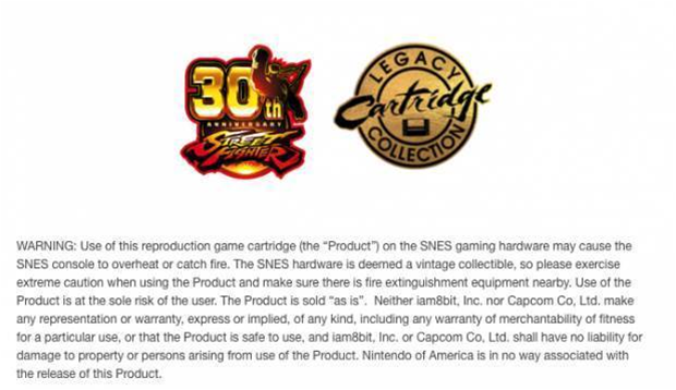 Capcom releases limited run of 30th anniversary Street Fighter II cartridges - but there's a dangerous catch
