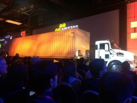 AWS' 100PB truck will move your data to the cloud