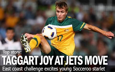 Taggart's Joy At Newcastle Jets Move