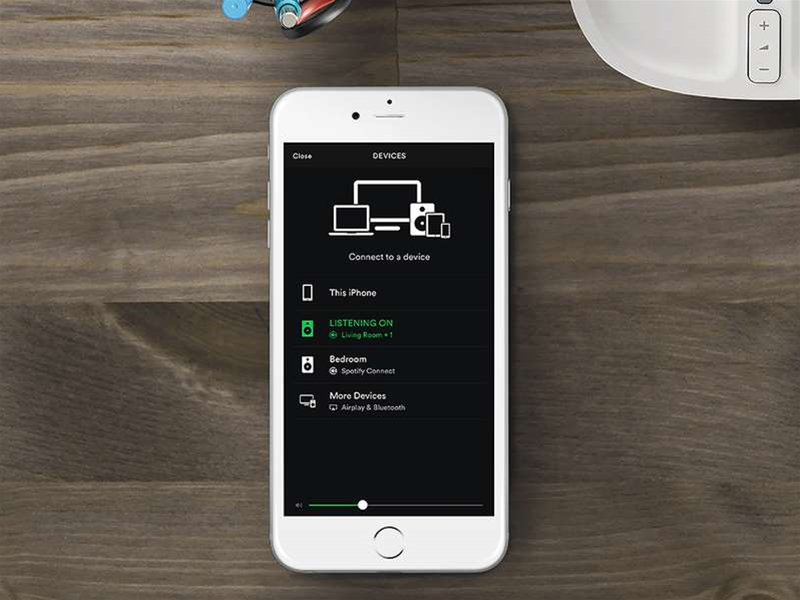 Download this: Spotify Connect for Sonos
