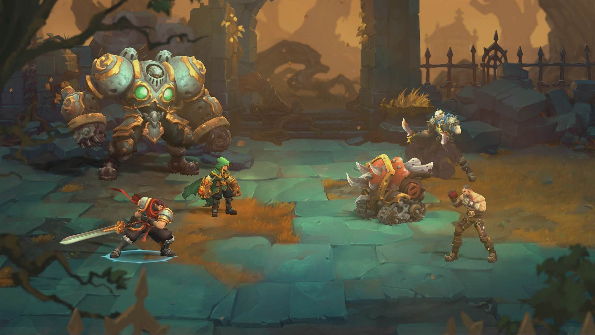 JRPG Battle Chasers: Nightwar out now!