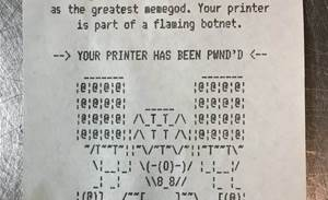 Mass attack worldwide on internet-exposed printers