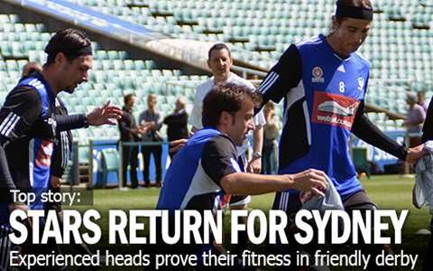 Sydney Stars Return In Derby Friendly