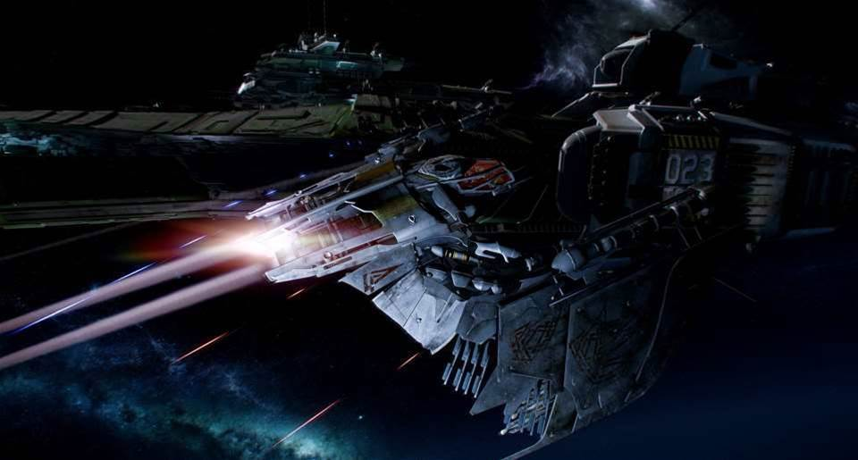 New Star Citizen AMD sizzle reel is... sizzling