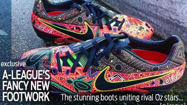 Shoe beauty! A-League's fancy footwork