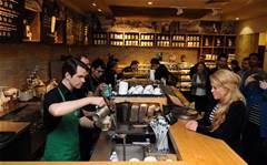 Starbucks has free Wi-Fi in Australia