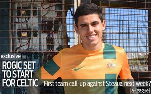 Rogic could play for Celtic against Steaua