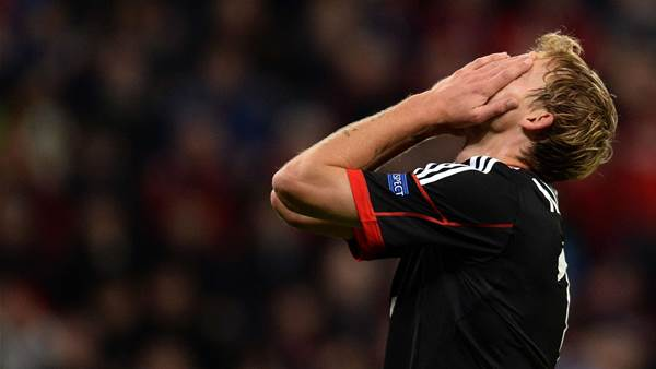 Kiessling overlooked for Germany squad