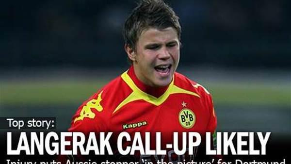 Langerak In Line For Dortmund Game
