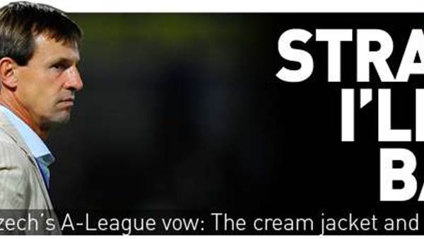 Straka's A-League Vow