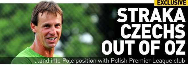 Straka Czechs Out For Pole Position