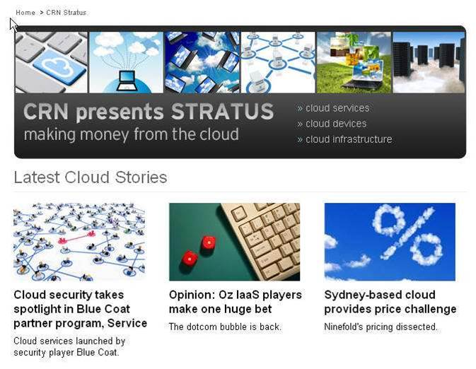 CRN launches Stratus: Make money from the cloud