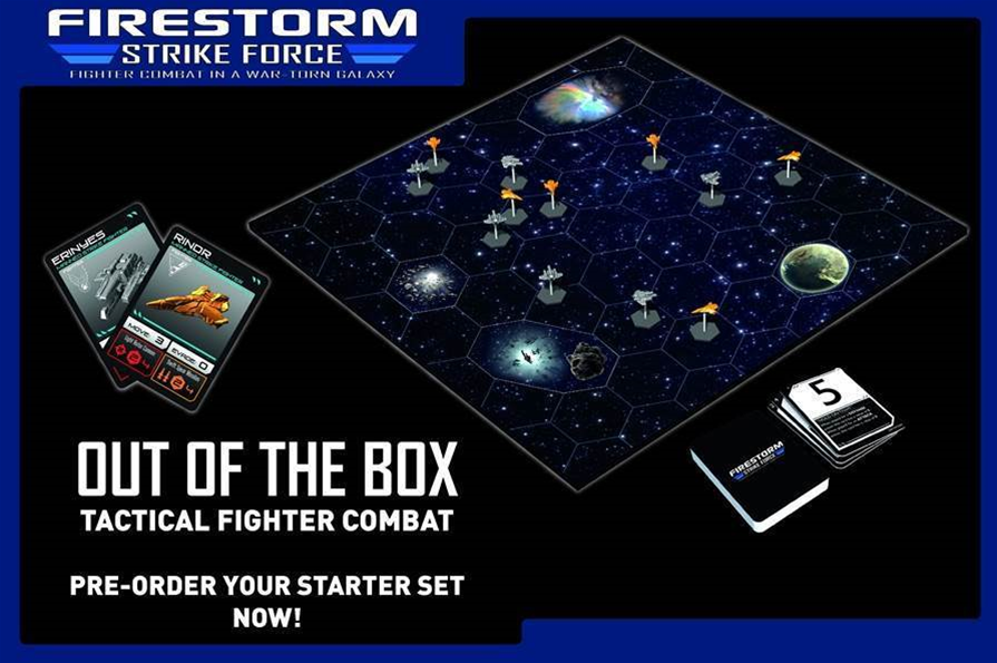 Spartan Games releases Firestorm: Strike Force boardgame