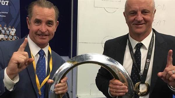 Arnie's 'coach whisperer' targets EPL