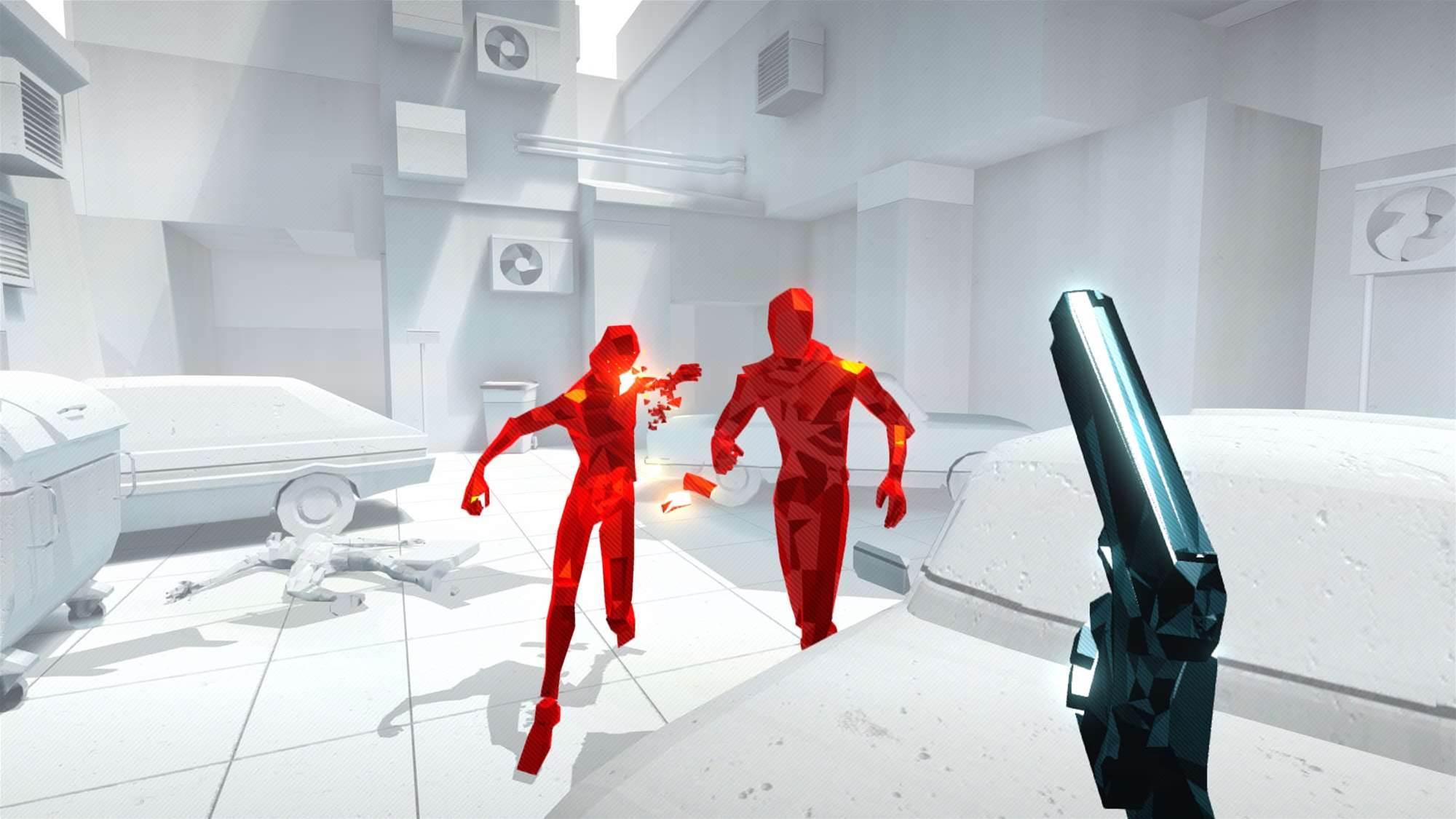 SUPERHOT gets release date, new trailer
