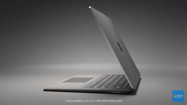 Microsoft unveils Surface Laptop and Windows 10S