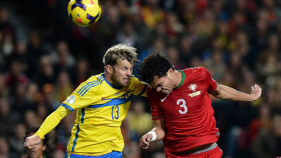 World Cup playoff: Portugal 1 Sweden 0