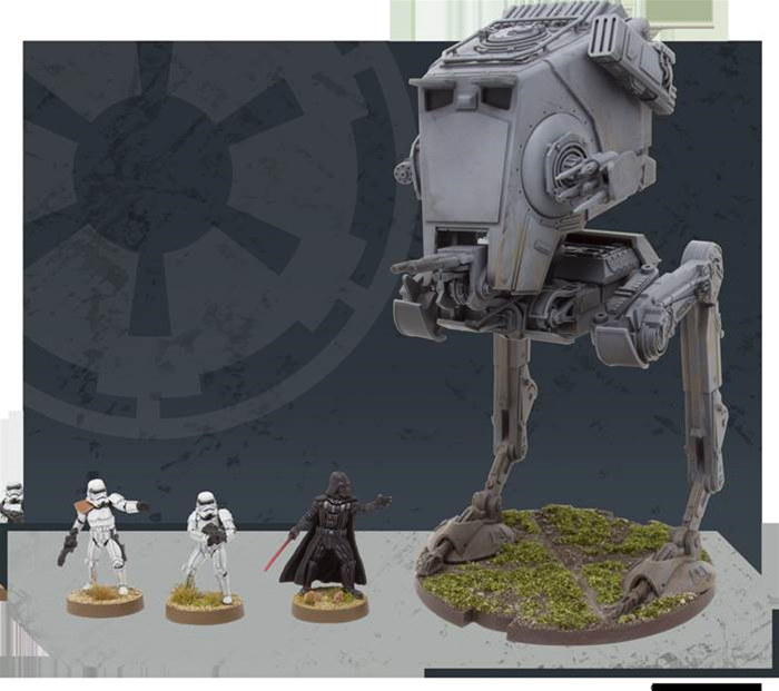 Fantasy Flight reveals new heavy units for Star Wars: Legion miniatures game