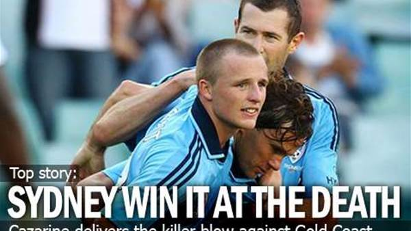 Sydney Win It At The Death
