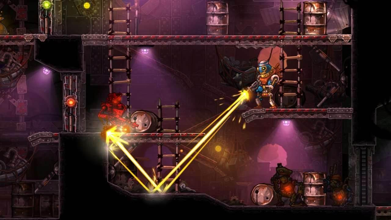 Review: Steamworld Heist