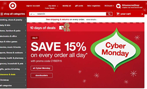 US retail websites go down under Cyber Monday traffic