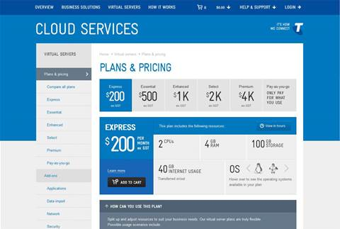 Telstra goes live with cloud portal and pricing