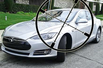 Security slip lets crims locate, unlock Tesla model S roadster