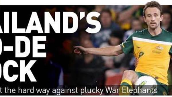 Socceroos Sneak Past Thailand