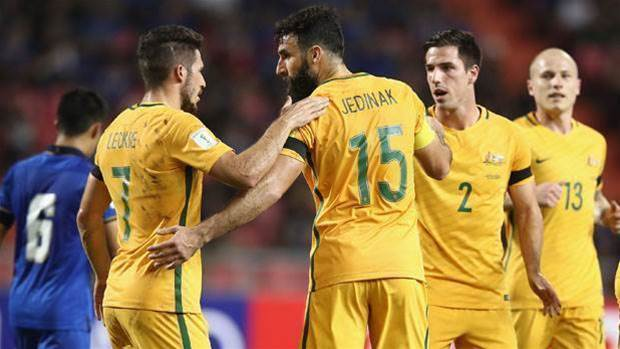 Socceroos steady in world rankings