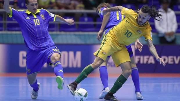 Gutsy Futsalroos felled by Ukraine