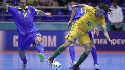 Gutsy Futsalroos felled by Ukraine
