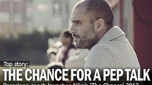 The Chance For A Pep Talk