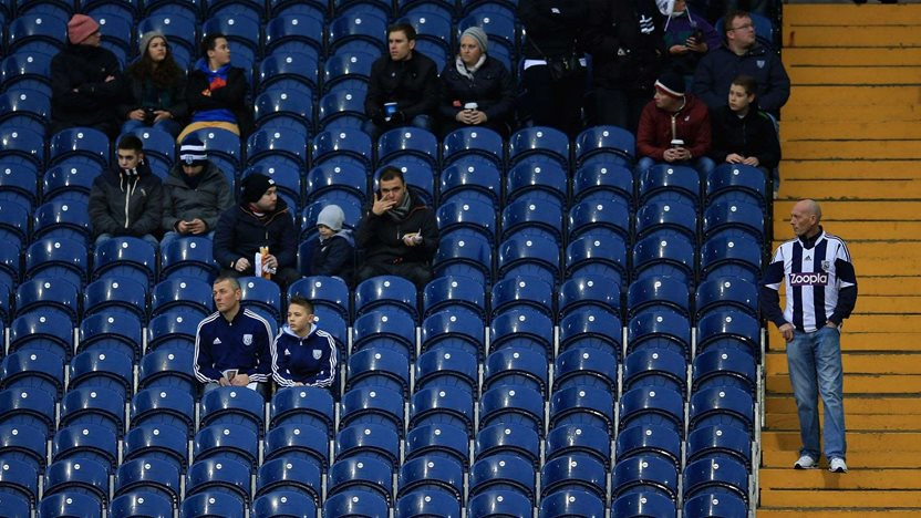 Pulis disappointed by Cup turnout