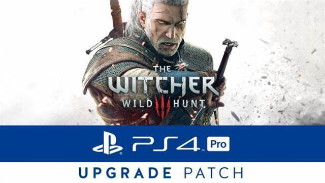 The Witcher 3 adds PS4 Pro support