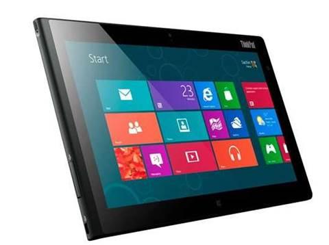 Lenovo launches Windows 8 tablet