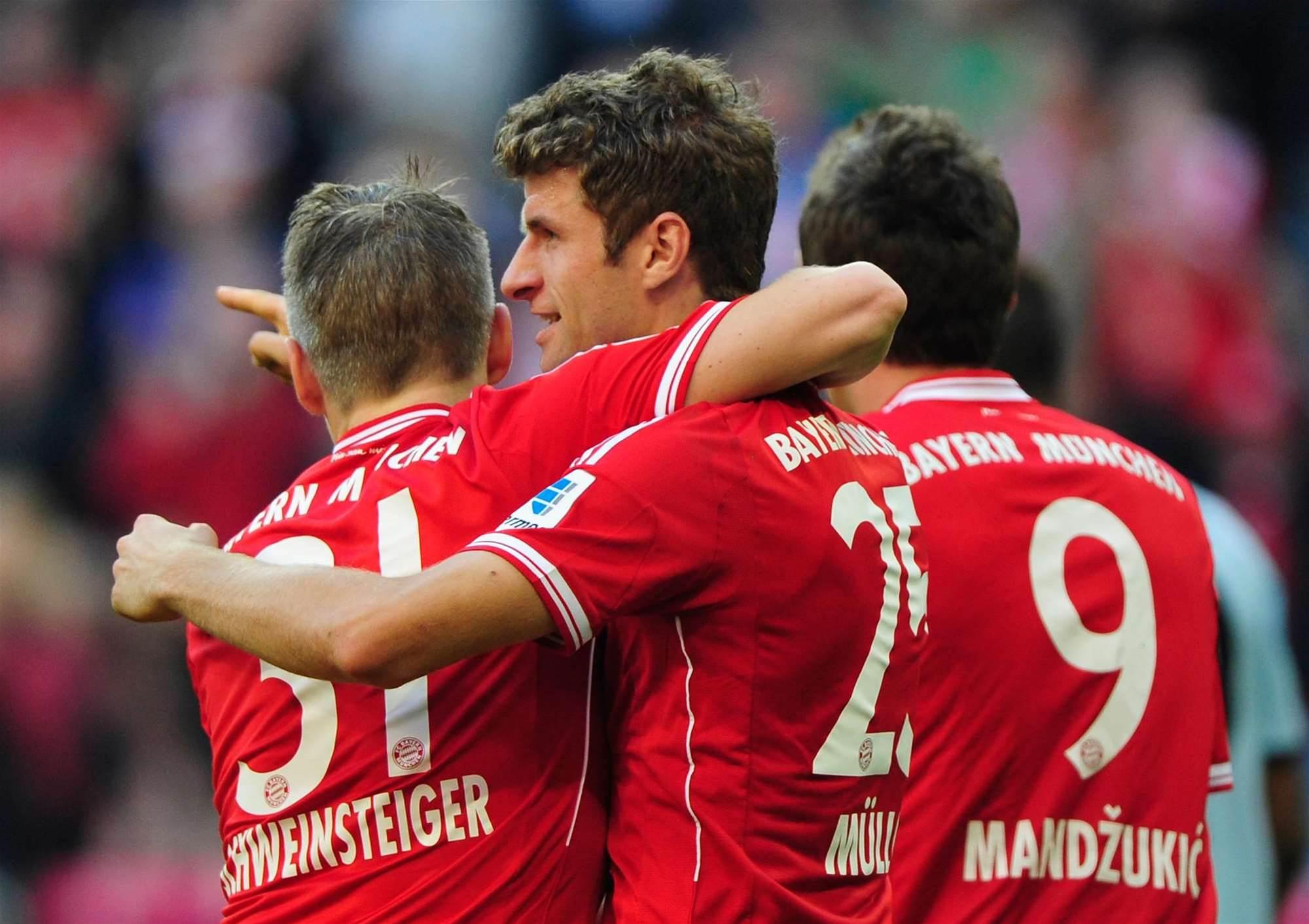Bundesliga: Bayern Munich 4 Mainz 1