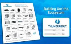 """One hundred"" Thunderbolt devices to launch this year"