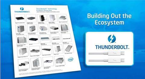 """""""One hundred"""" Thunderbolt devices to launch this year"""