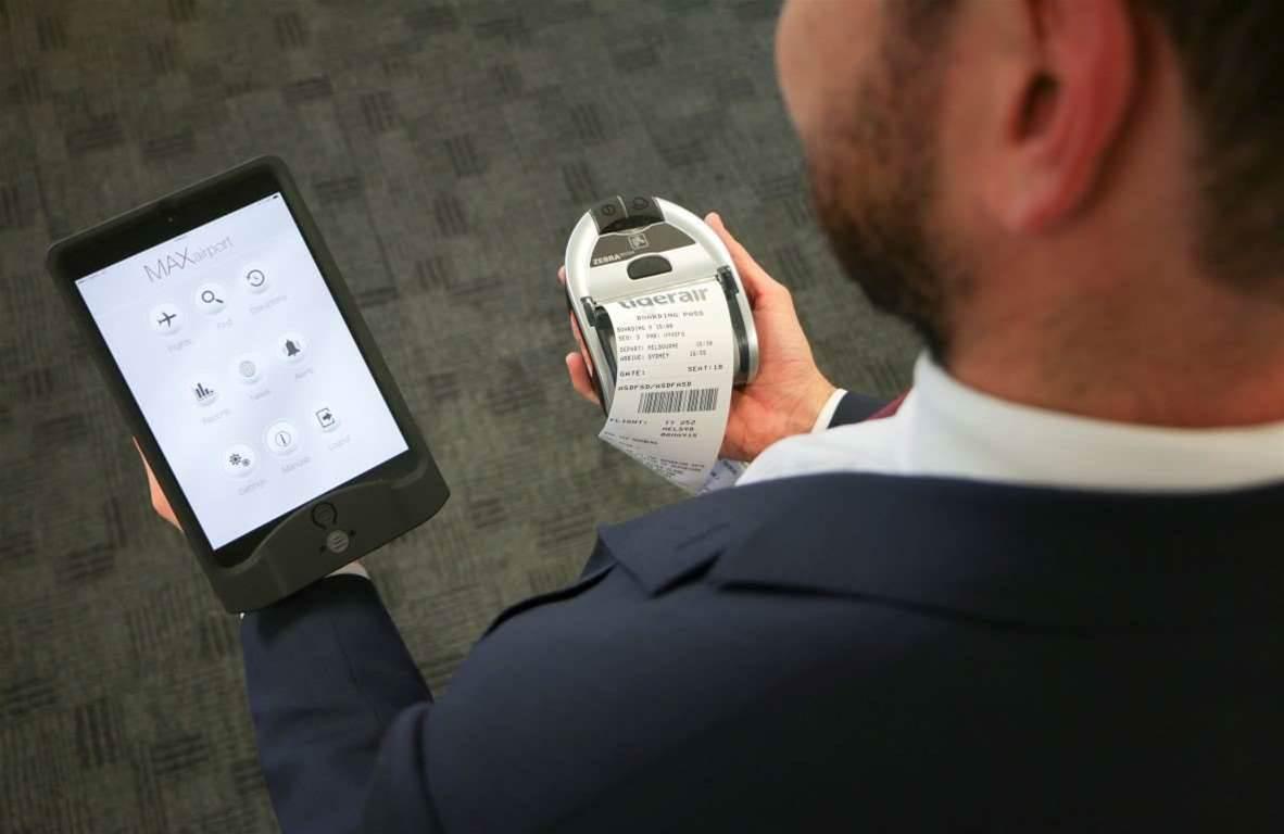 Tigerair deploys iPads to cut down check-in queue times