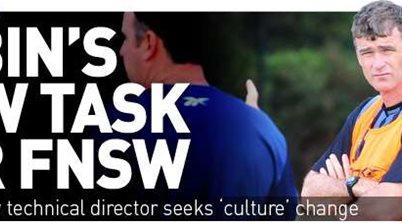 Tobin's Task For NSW