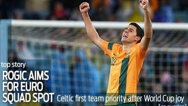 Rogic targets Euro squad spot
