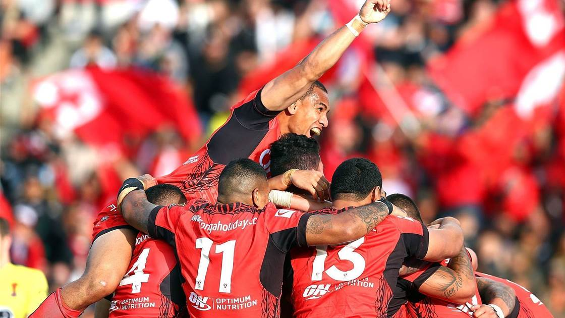 Tonga make history in downing Kiwis