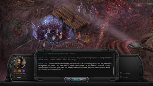 Performance update drops for Torment: Tides of Numenera
