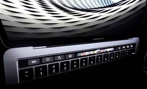 Apple ditches physical function keys on new MacBook Pro
