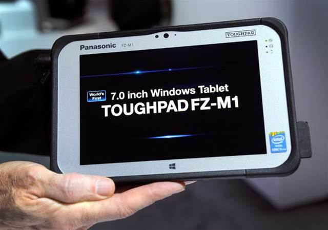 Panasonic's Toughpad FZ-M1 goes on sale in Australia in April