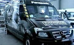 Ex-Benz van travels with Toughbooks