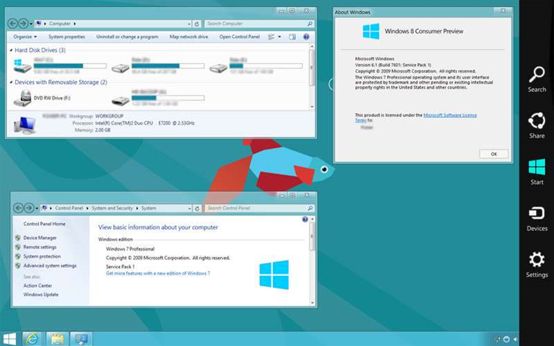 Give XP or 7 the Windows 8 look with Transformation Pack 4